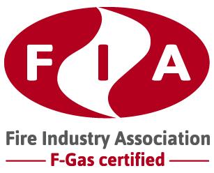 Fire Industry Association F-gas certified